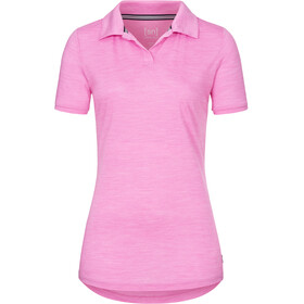 super.natural Everyday Poloshirt Damen crocus melange